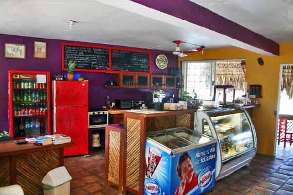 La Mora Café, San Agustinillo Oaxaca